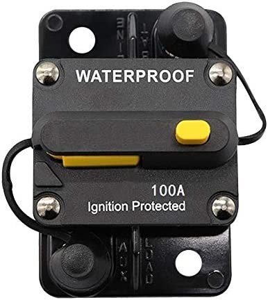 Switches 50A Circuit Breaker Car Auto Boat Stereo Audio Fuse,30 ...