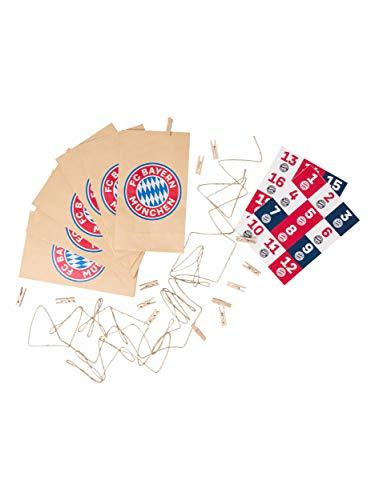 FC Bayern München DIY Adventskalender Set, Basteln, selber Befüllen