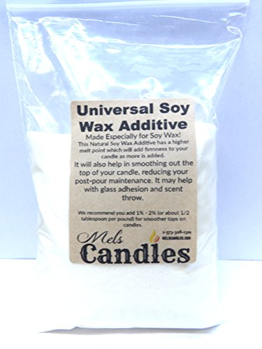 Mels Candles & More Universal Soy Wax Additive 5 Ounce Bag of Candle Wax Additive