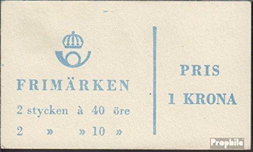 Sverige Mi.-nummer: MH8bb (komplett. utgåva) 1964 Gustav VI Adolf (frimärken för samlare)