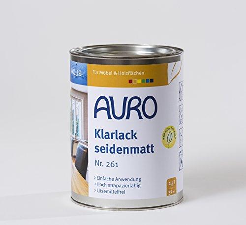Auro Klarlack, seidenmatt