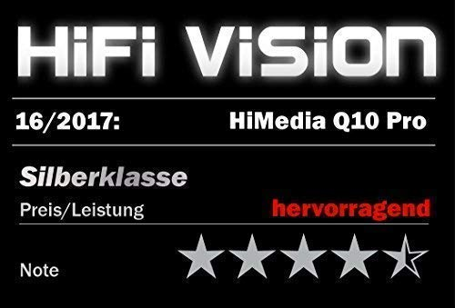 HIMEDIA Q10 PRO 4K (Ultra-HD) HDR & 3D Android TV Box/Mini-PC + Orbsmart AM-1 Airmouse Bundle