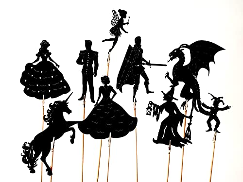 Wildflower toys Fairytale Shadow Puppets Made in The USA