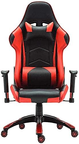 n.g. Wohnzimmerzubehör Spielstuhl Racing Computer Bürostuhl Ergonomie mit hoher Rückenlehne 170 Grad Neigungsverstellbare Kopfstütze Kniestuhl