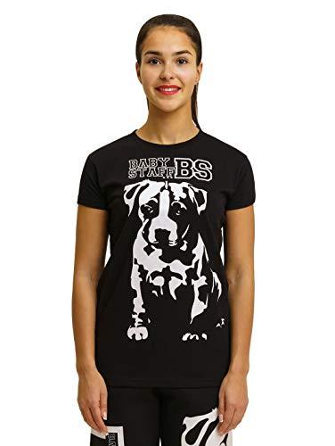 Babystaff Puppy T-Shirt - schwarz Frauen Oberteil M
