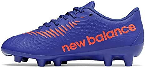 New Balance Tekela Magique V3 Firm Ground Soccer Shoe, Cobalt, 11.5 Wide US Unisex Little_Kid