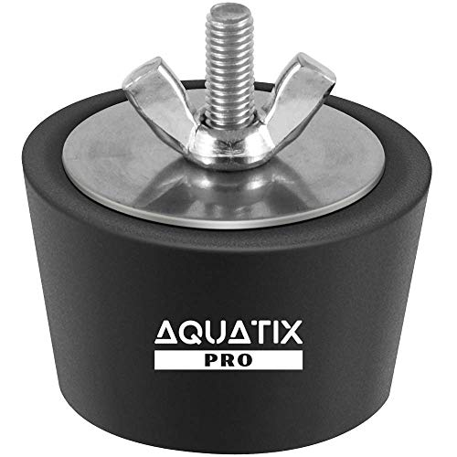 Aquatix Pro Pool Winterizing Plug Premium 1.5 to 2 Swimming Pool Winter Expansion Plugs with SS Screw, Stainless Steel Bolts, Heavy Duty Rubber, Protect Your Equipment Today!