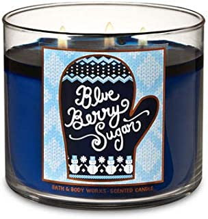Bath & Body Works Blueberry Sugar Scented 3-Wick Candle 14.5 oz