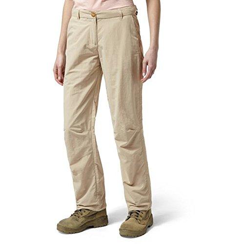 Craghoppers - Pantalon NOSILIFE - Femme (FR 36 Régulier) (Sable)