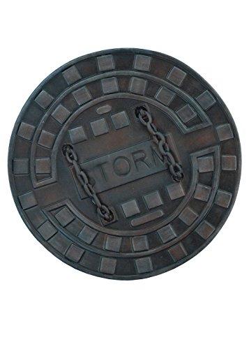 Epic Armoury 403504 Sewer Round Shield, Unisex Erwachsene
