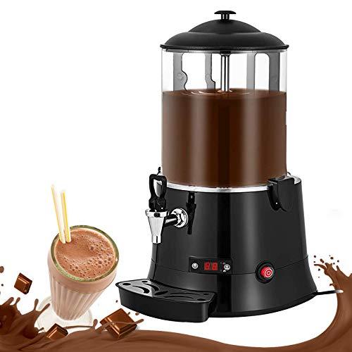 YJINGRUI Macchina per erogazione di cioccolata calda commerciale Distributore di bevande al cioccolato elettrico Macchina per riscaldare il cioccolato al latte 220V (capacity: 10L)