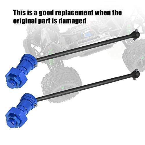 Vordere Antriebswelle, 1 Paar vordere hintere Antriebswelle CVD Dogbone-Upgrade-Teil für 1/5 RC Car RC-Zubehör(Marineblau)