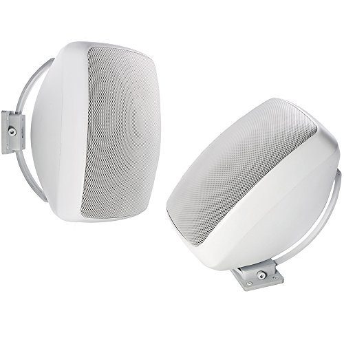 Jamo I/O 8A2 luidspreker, wit - 2-weg luidspreker (met kabel, wit)