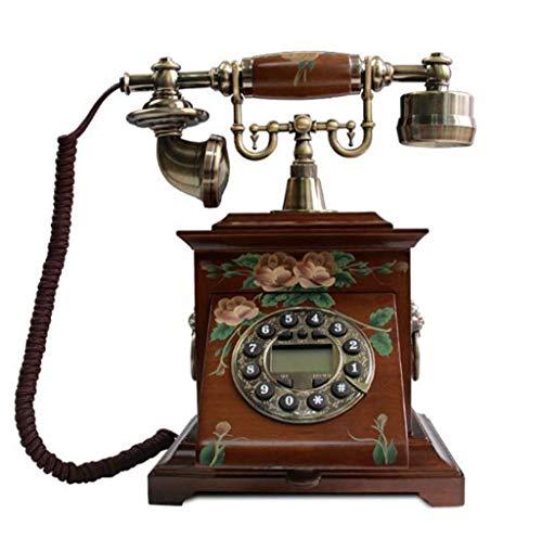 Alte Telefon Holz, High Fashion kreativ - am Ende des Telefons enthält 250x195x290mm Handy (Farbe: # 1)