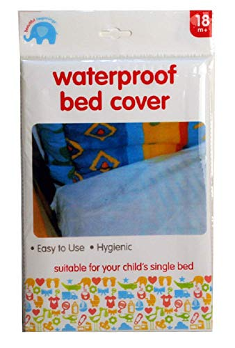 Bed Wetting Waterproof Sheet Single Mattress Cover Protector for Child, Baby, & Pets