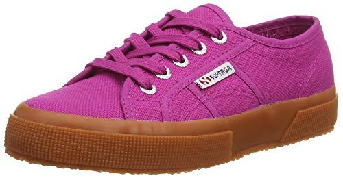 SUPERGA 2750 Cotu Classic Shoes, Scarpe da Ginnastica Donna, Viola Fuchsia, 35.5 EU