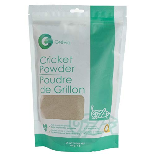 16oz (1 lbs) Cricket Powder - 100% Raised & Processed in Canada