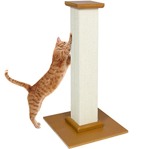 Best Choice Products Toy Cat Tree Pet Scratcher Kitten Kitty Scratching Post - Beige