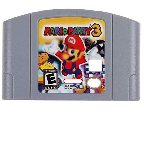 Cenxaki Game Cartridge Card for Nintendo 64 Mario Party 3 N64 US Version