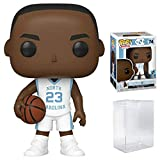 Michael Jordan North Carolina Tar Heels White (Away) Jersey #74 Pop Sports Action Figure (Bundled with Ecotek Pop Protector to Protect Display Box)