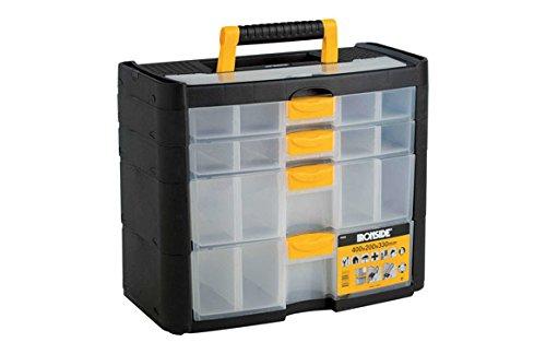 Ironside M261496 - Organizador plastico 2+2 compartimentos