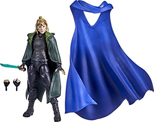 Hasbro Marvel Legends Series - Sylvie, Action Figure in Scala da 15 cm, Include 3 Accessori e 2 Elementi Build-a-Figure