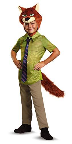 Disney Zootopia Nick Wilde Boys' Costume