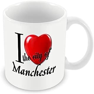 Chalkhill Printing Company CP CitiesUK_38 Mug-I Love The City of Manchester