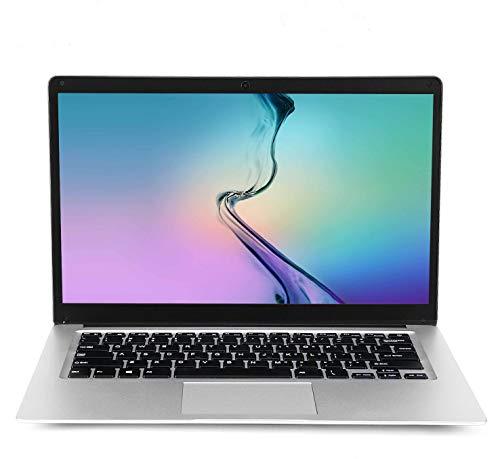 Laptop de 15.6 Pulgadas (Intel Celeron de 64 bits, 6GB DDR3 RAM, SSD de 128GB, batería de 10000mAH, cámara Web HD, Sistema operativo Windows 10 preinstalado, Pantalla IPS FHD 1920 * 1080)