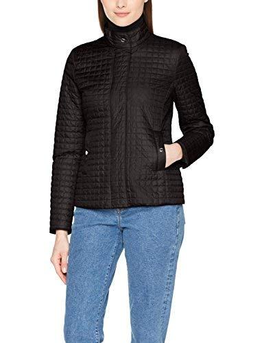 Geox Woman Jacket Steppjacke Giacca, Nero (Black F9000), 46 Donna