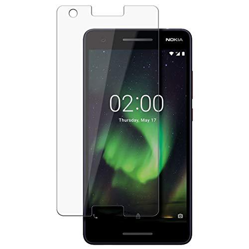 disGuard Schutzfolie für Nokia 2.1 [2 Stück] Entspiegelnde Bildschirmschutzfolie, MATT, Glasfolie, Panzerglas-Folie, Bildschirmschutz, Hoher Festigkeitgrad, Glasschutz, Anti-Reflex