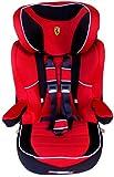 I MAX Ferrari Scuderia ROT Kindersitz KINDER AUTOSITZ BABY SITZ GRUPPE 1/2/3-9-36 kg+GRATIS STICKERS