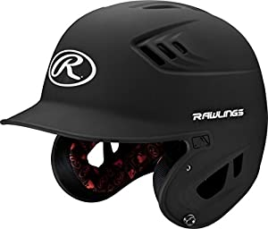 Rawlings R-16 Helmet - Jr. Matte Black (EA)