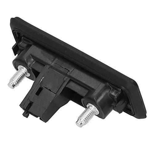 1 pieza manija de la tapa del maletero del coche manija de la puerta trasera tirador de la puerta exterior 3U0‑827‑566 apto para Fabia Roomster Superb Yeti ABS negro