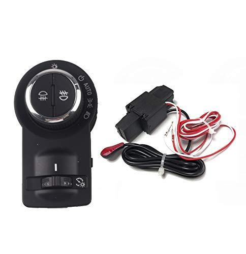 YJDTYM Módulo de Interruptor de Faros automáticos/Ajuste para Chevrolet Cruze Malibu Trax/Fit para Opel Mokka Astra J Regal Encore (Color : Red)