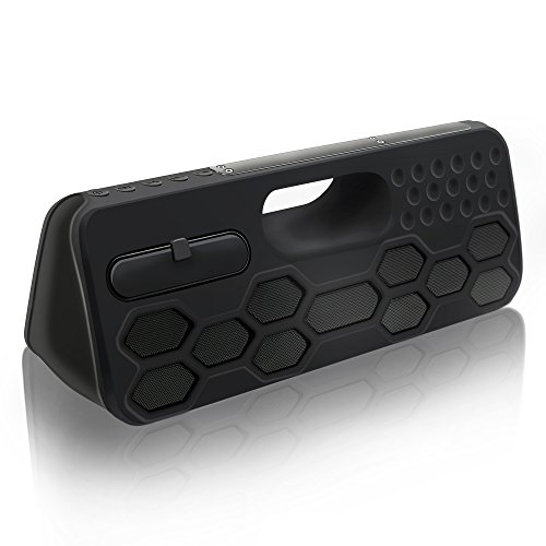 SVPRO Altavoz casero inalámbrico impermeable del altavoz de Bluetooth Altavoz portátil para exteriores con TWS Subir volume