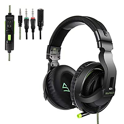 Supsoo Gaming Headset for PS4/Xbox one/PC Noise...