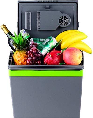 Dljyy Mini-koelkast, draagbaar, voor auto, thuis, warm en koud en elegant, 26 l