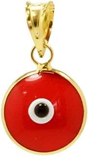 red evil eye charm