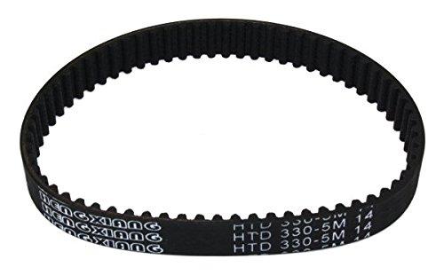 Zahnriemen 1 HTD 330-5M 14 mm für Vertikutierer/Rasenlüfter, passend für VT32 von Atika Power Tec Garden usw.