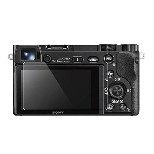 HomyWord 0,3 mm de grosor 9H cámara de cristal templado Protector de pantalla Piel para Sony a5000 a6000 a6300
