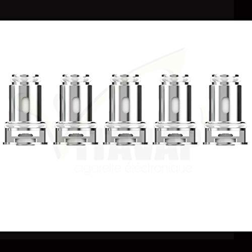 Vitavap' - Lot de 5 résistances GT en 1,2 Ohm pour Istick Amnis 2 Eleaf/clearomiseur GTIO - Sans tabac ni nicotine
