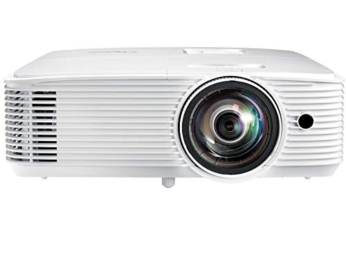 Optoma GT780 Short Throw Projector for Gaming & Movies | HD Ready 720p + 1080p Support | Bright 3800 Lumens for Lights-on Viewing | 3D-Compatible | Speaker Built in