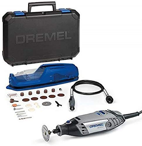 Dremel 3000 - Multiherramienta, 130 W, kit con eje flexible