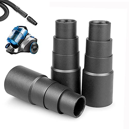 Tubo adattatore universale per aspirapolvere per levigatrice orbitale casuale, per seghetto circolare, riduttore utensile (3 pezzi) (25 mm, 30 mm, 34 mm, 42 mm)