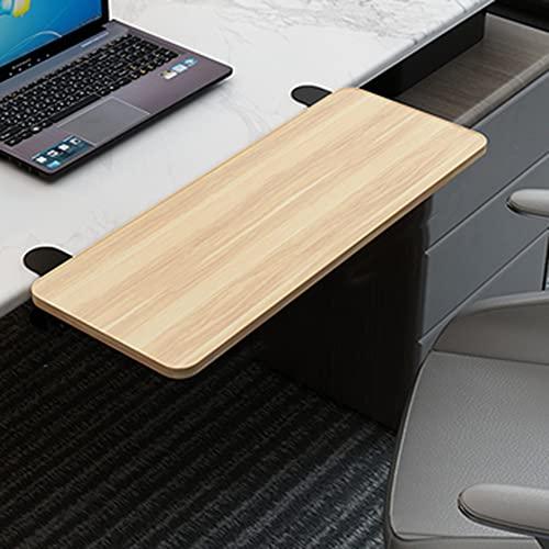 LKP Bandeja Teclado De Oficina En Casa, Soporte De Teclado Extensor Plegable De PC Mesa, Extensión De Escritorio para Ordenador, 52cm / 65cm / 75cm