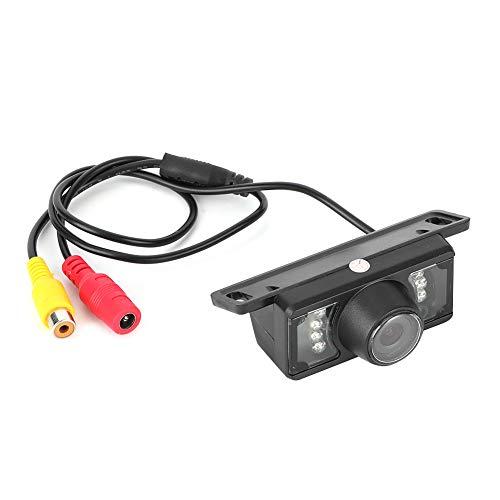 KIMISS Telecamera di Retromarcia per Retrovisione Auto LED Visione Notturna Impermeabile Ad Alta Definizione Fotocamera, 12V