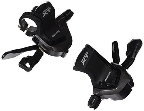 Shimano Deore XT SL-M8000 Schalthebelset schwarz 2016 Schalthebel Set