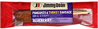 Jimmy Dean Pancake Batter Wrapped Precooked Turkey and Vegetable Protein Product Link On A Stick, 6.275 Pound -- 1 each.