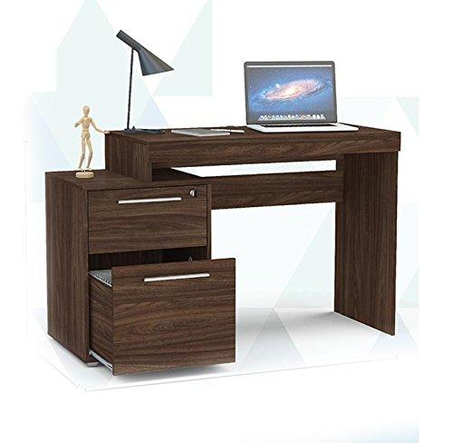 escritorio nogal de la marca JM Mundo de Oficinas SA de CV